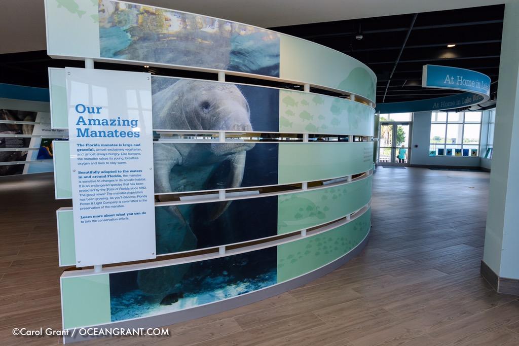 Manatee Lagoon Exhibit,FPL,